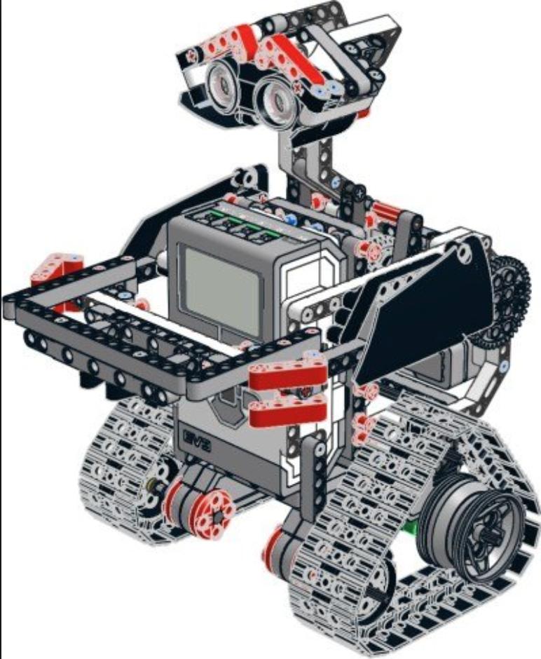 robot hecho por alumnos de primaria
